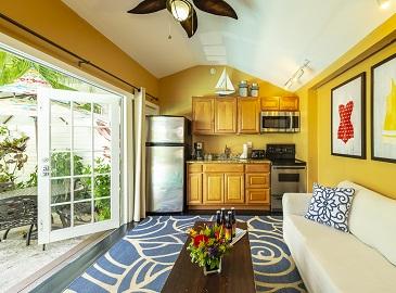 Key West Cottage Rentals - Rose Lane Villas pool-side condo