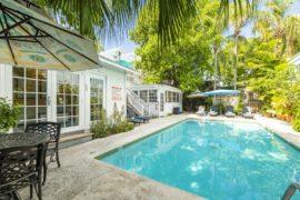 Key West Cottage Rentals - Rose Lane Villas pool