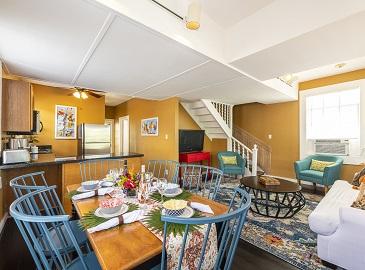 Key West Villas - Villa Grande's living area