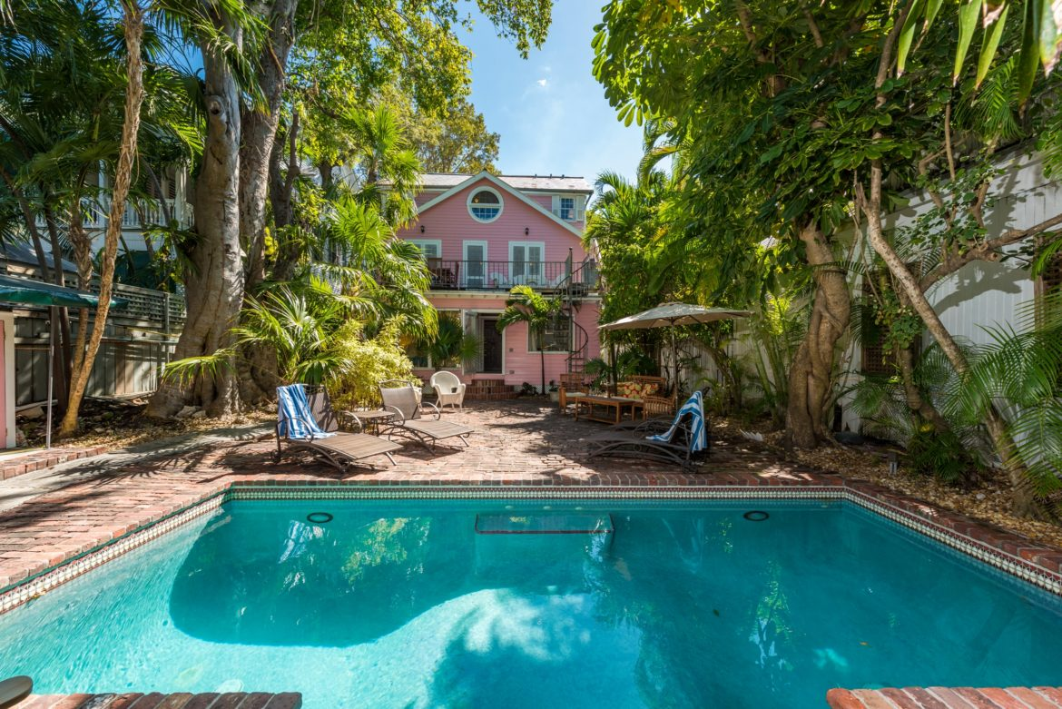 Key West Vacation Rental - William Skelton Home - Backyard pool