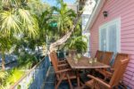 Key West Vacation Rental - William Skelton Home - Second floor back porch