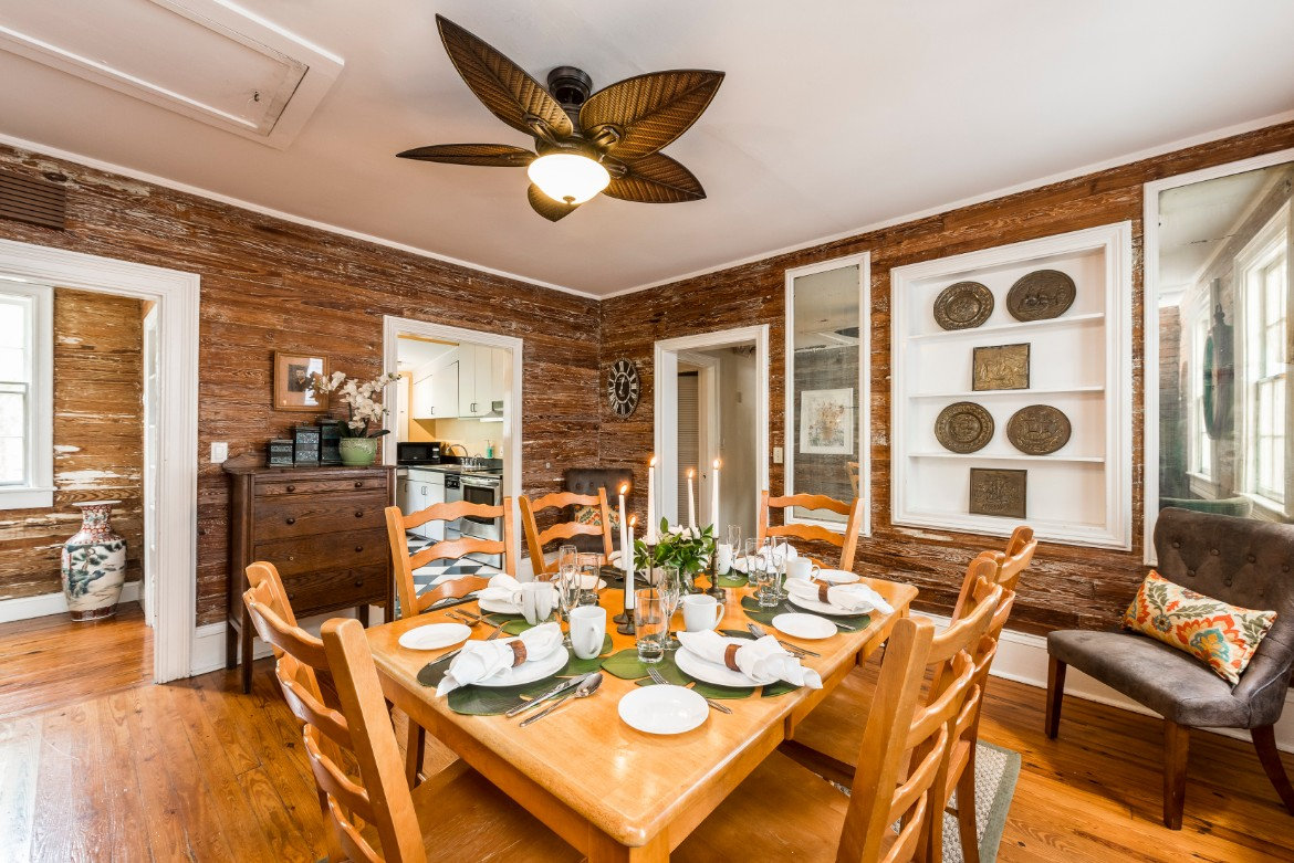 Key West Vacation Rental - William Skelton Home - Second Floor Dining Room