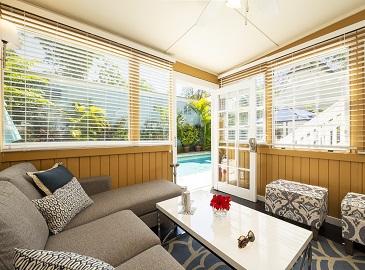 Key West Cottages - Villa Vista Living area