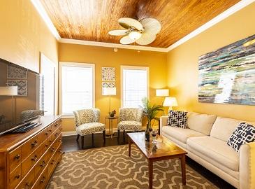 Key West Villas - Villa Porta living area