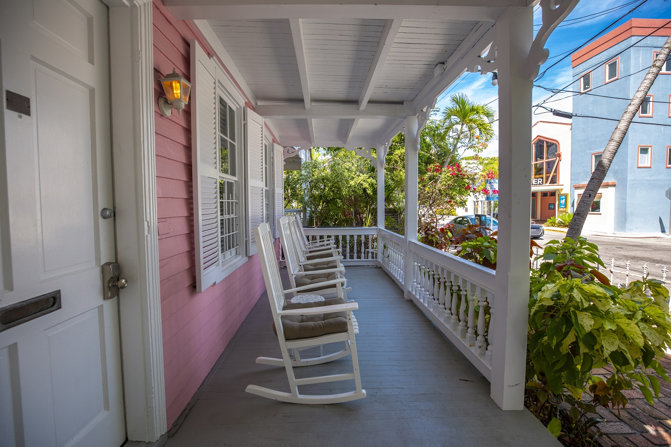 Key West Vacation Home - William Skelton House - Front Porch