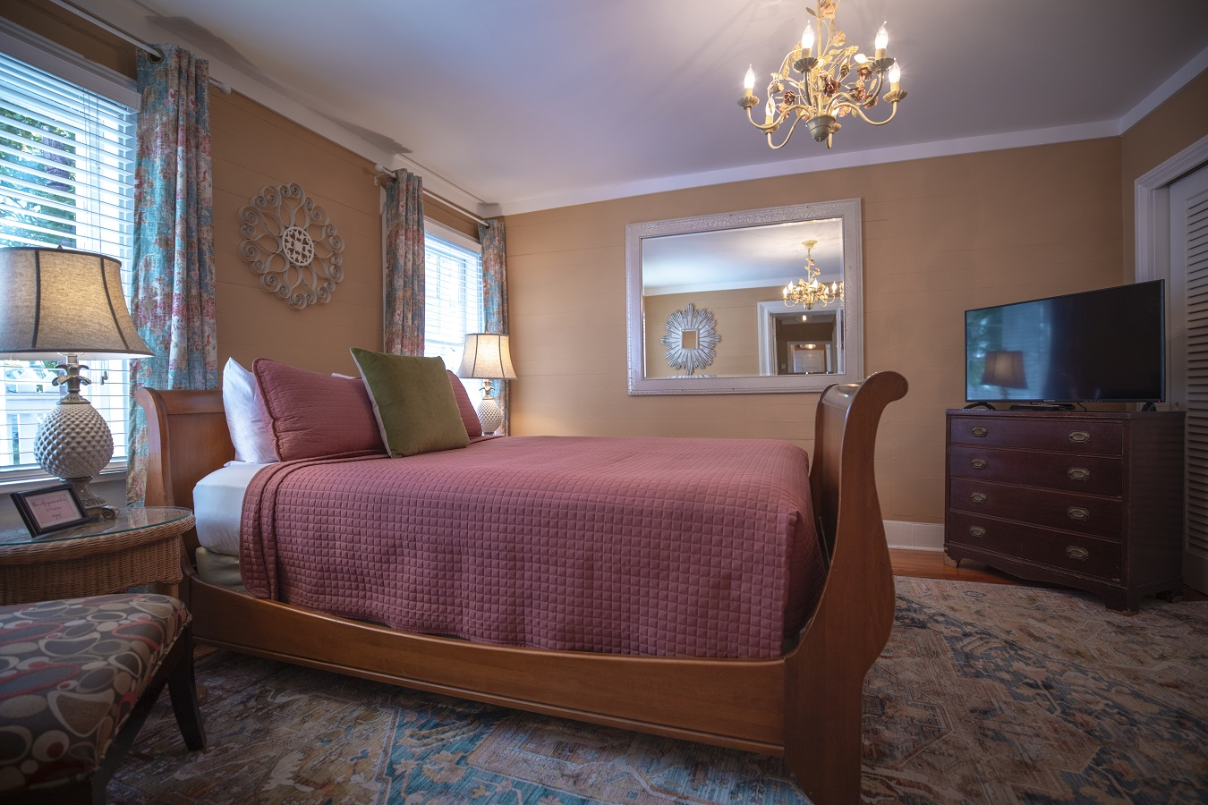 Key West Vacation Home - William Skelton House - Boca Queen Bedroom