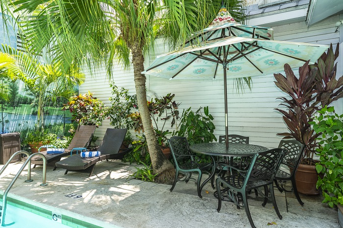 Key West Vacation Home Rental - Rose Lane Villas Swimming Pool