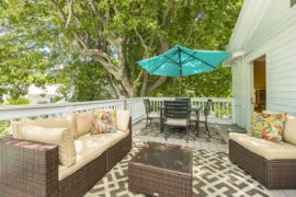 Vacation Rentals Key West - Private Deck