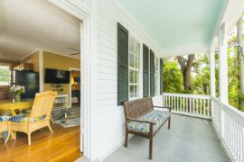 Vacation Rentals Key West - Private Front Porch