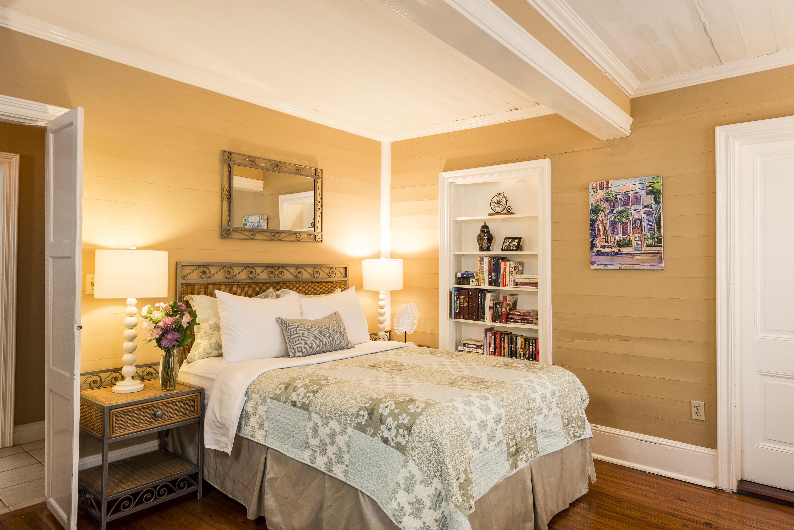 Key West Vacation Home - William Skelton House - Boca Queen + Twin Bedroom
